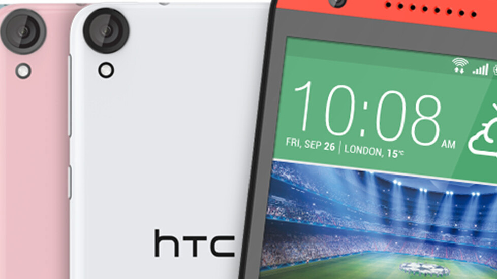 HTC announces the Desire 820, a mid-range smartphone for people who tinker with selfies