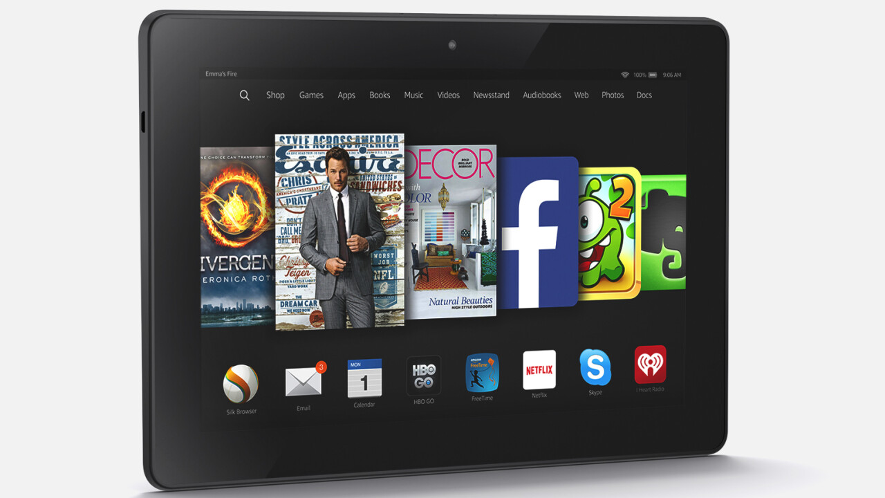 Tablet sales decline for the first time in Q4 2014, but Amazon is hit the hardest