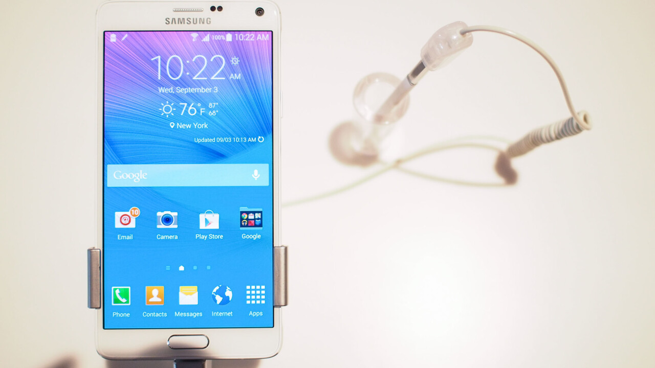Samsung Galaxy Note 4 available to pre-order in UK from tomorrow, arriving in-store October 10
