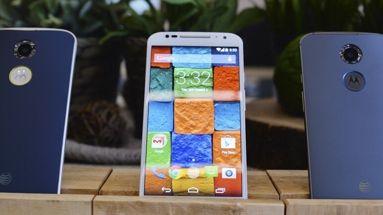 Motorola's latest flagship, the Moto X, will be available for pre-order in the US on Sept. 16