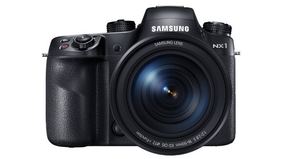 Samsung unveils its new flagship NX1 camera for photo pros