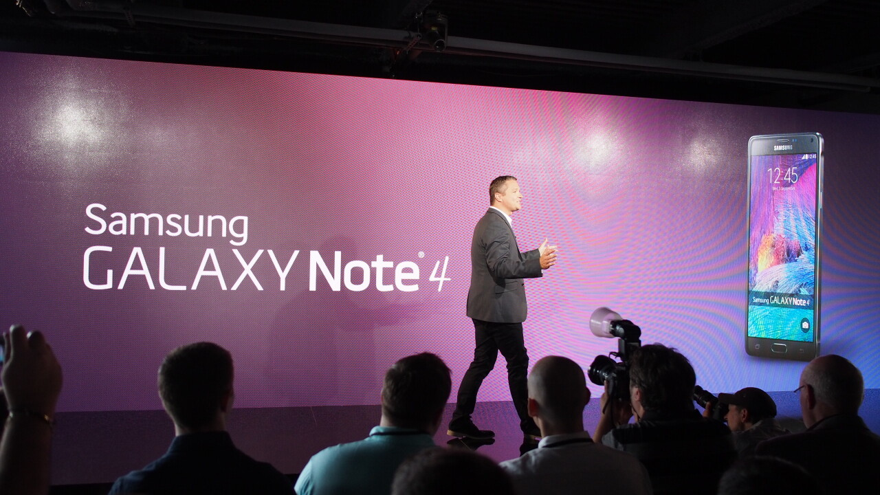 Samsung Galaxy Note 4 hands-on: More of the same, but that might not be a bad thing