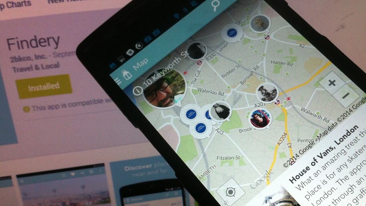 Flickr to Findery: Caterina Fake brings her social discovery app to Android