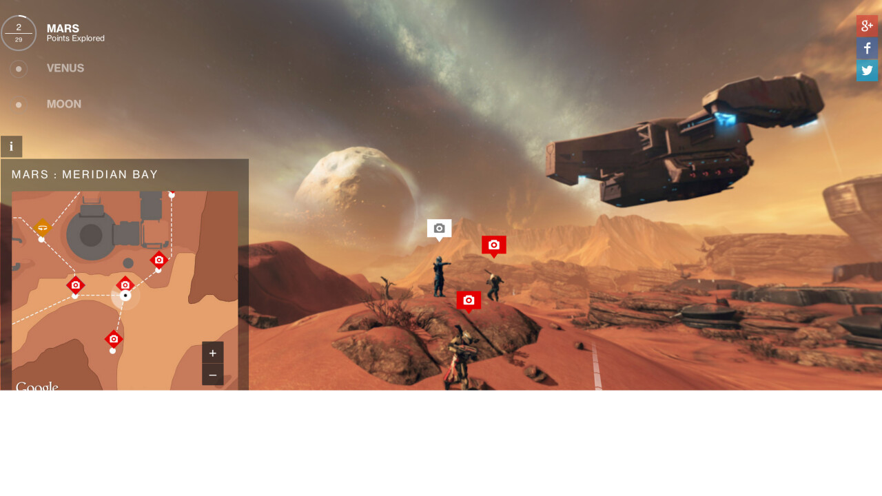 Bungie turns its Destiny game worlds into Google Street View maps