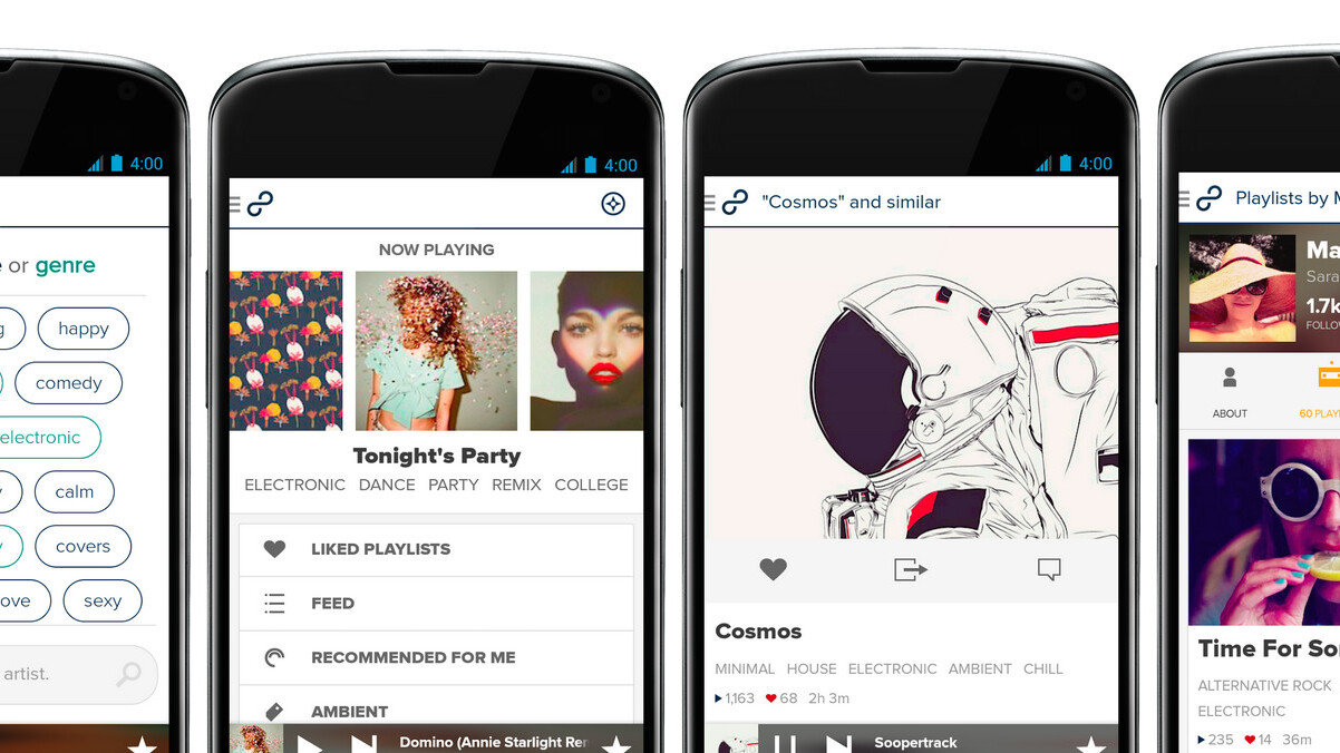 8tracks overhauls its Android app to help you find the perfect mix