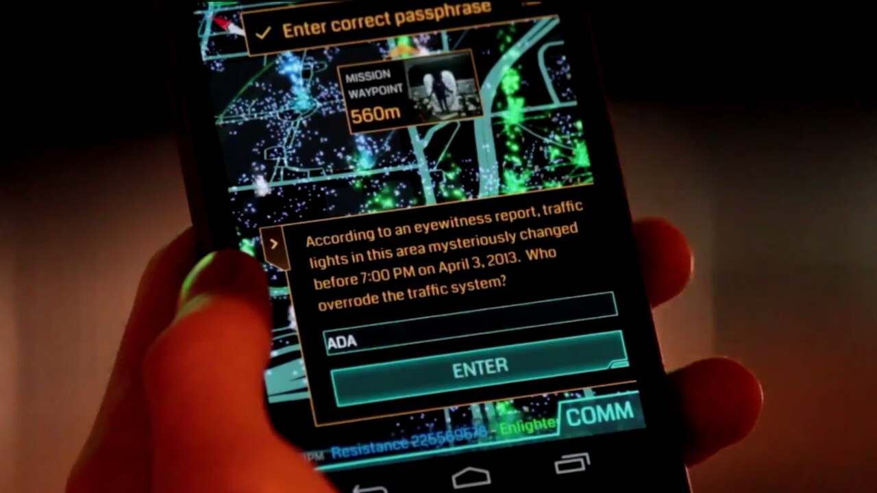 Google's Niantic Labs introduces 'missions' to its location-based Ingress smartphone game
