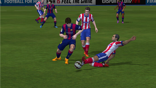 FIFA 15 Ultimate Team is now available for Android, Windows Phone and iOS