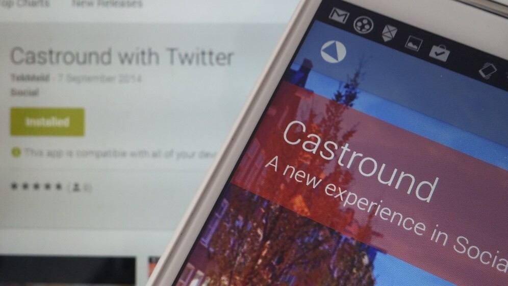 Castround for Android lets you view tweets by location