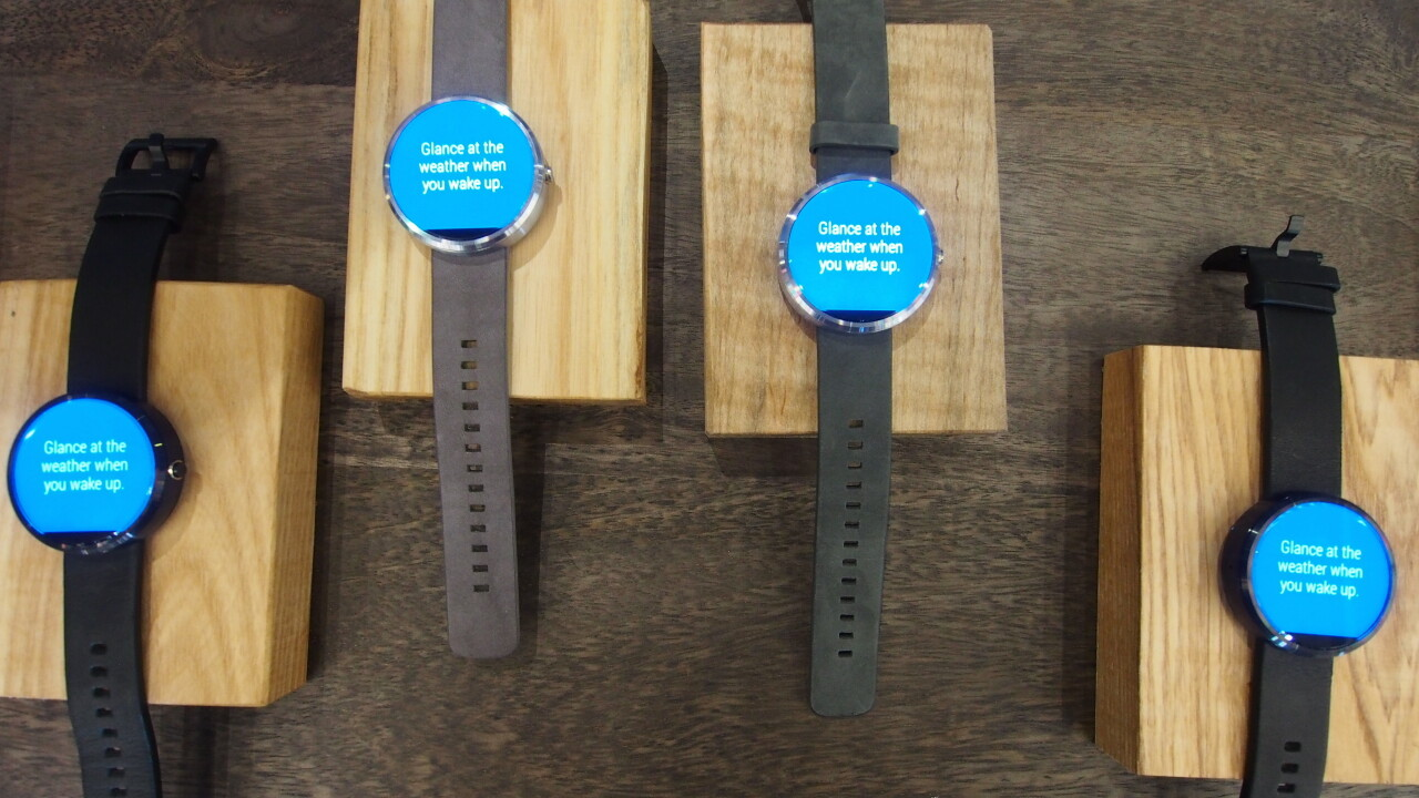 Moto 360 smartwatch sells out on Motorola.com in under three hours 'due to high demand'