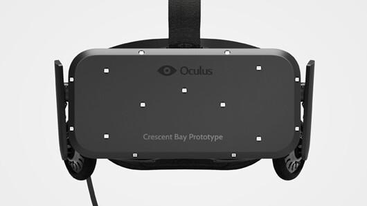 Oculus unveils Crescent Bay prototype virtual reality headset