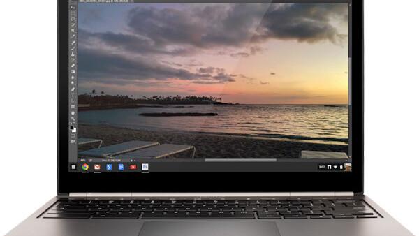 Google's Chromebooks can now stream Adobe Photoshop