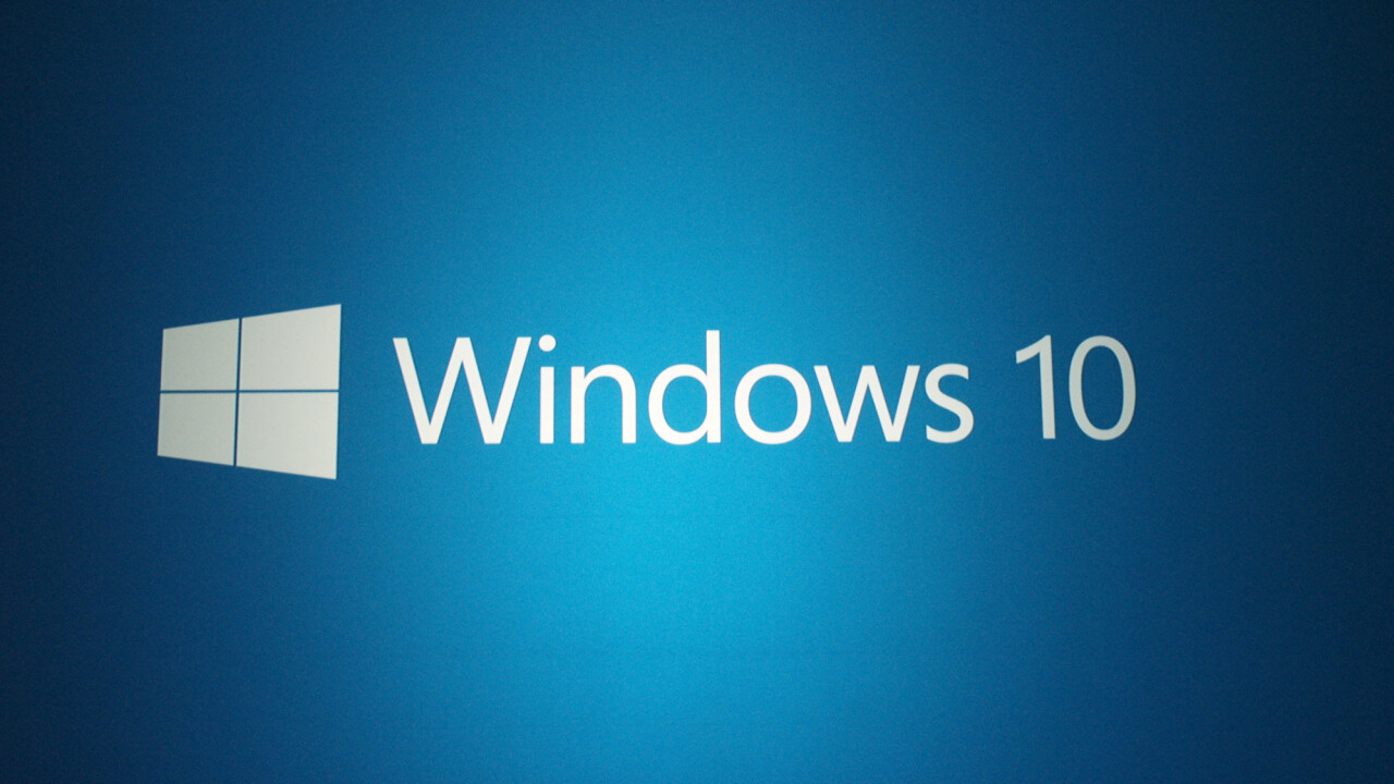Microsoft releases its first update for Windows 10 Technical Preview