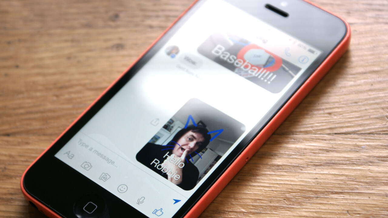 Facebook Messenger update for iOS lets you draw on photos before sending