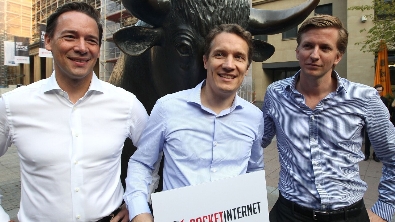 Rocket Internet kicks off its $1.8 billion mega-IPO but shares are down in early trading