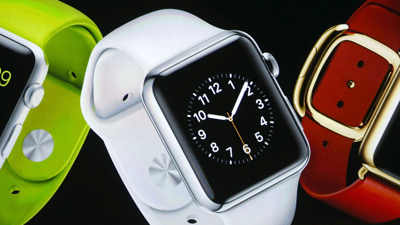 The Apple Watch will launch outside the US in April too
