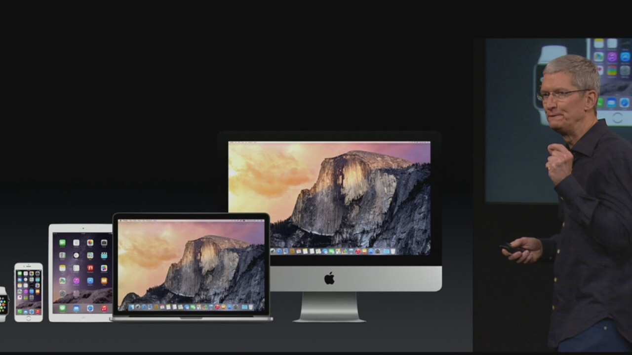 Apple to release OS X Yosemite on the Mac App Store later today