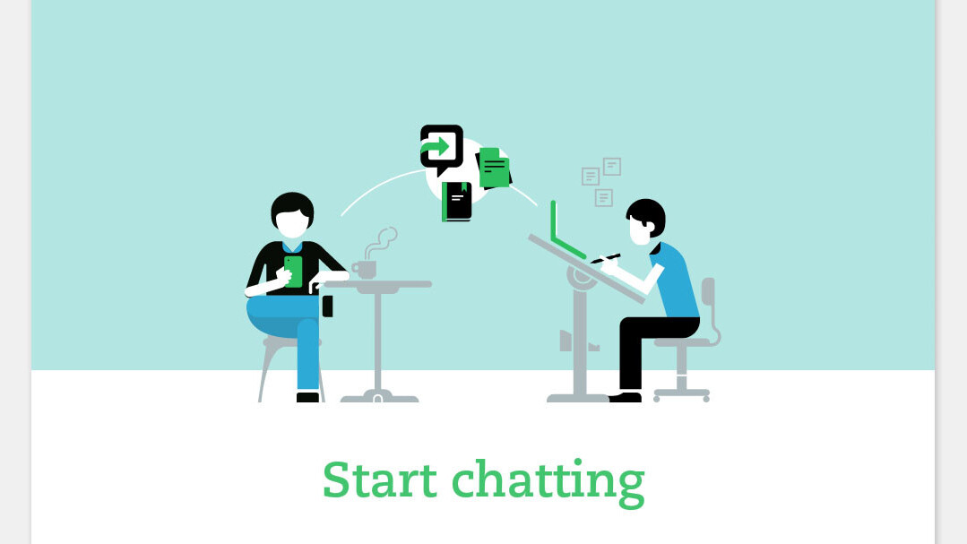 Evernote integrates messaging with its Work Chat rollout