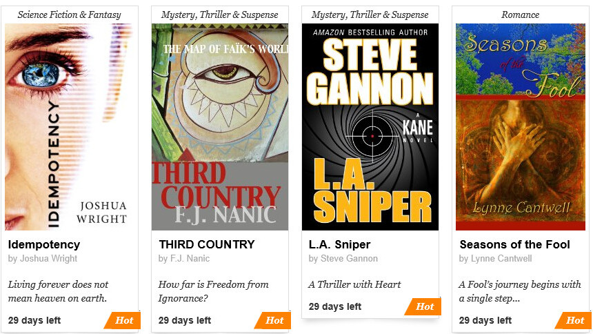 Amazon's crowdsourced publishing program, Kindle Scout, is now open for voting