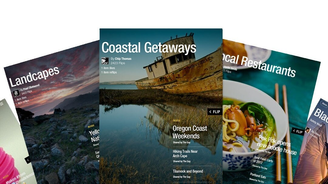 Flipboard launches a full Web version to display feeds in your browser