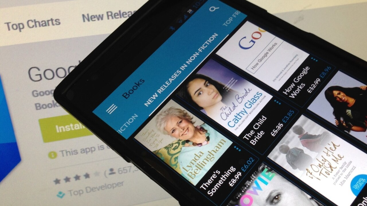 Google Play Books for Android now makes it easier to read non-fiction