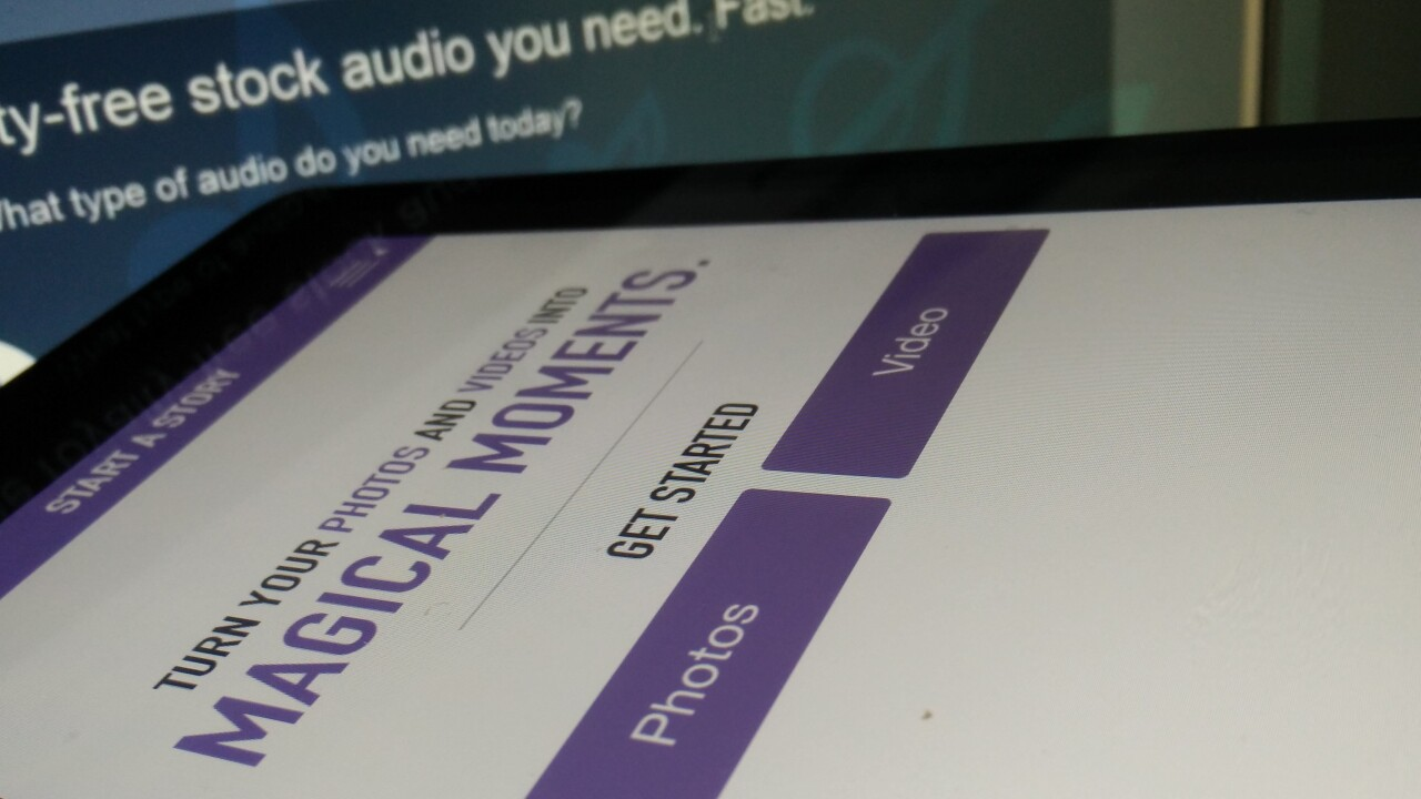 Just Add Audio: A simple iPhone app that brings royalty-free music to your home videos