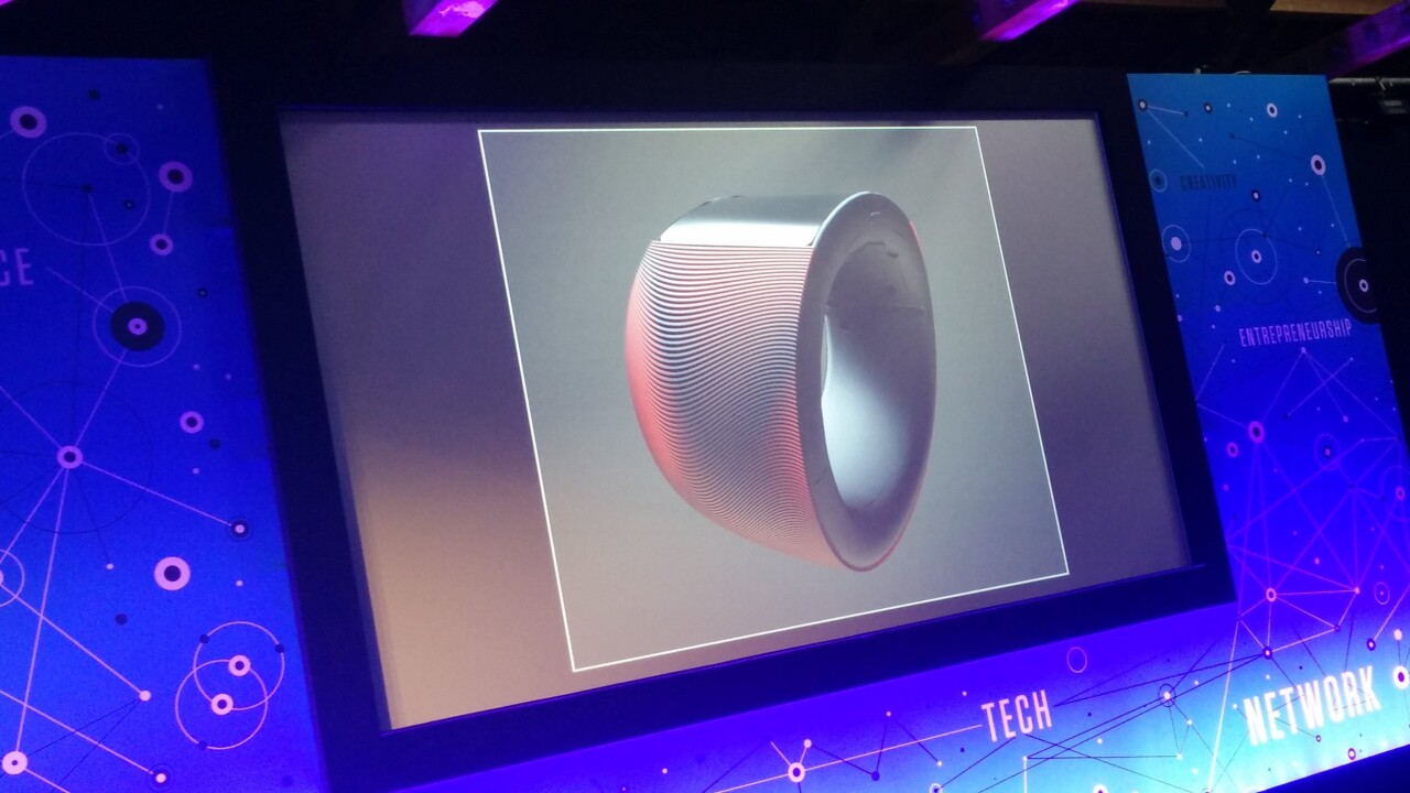 Buildings to bangles: Will.i.am teams with architect Zaha Hadid to design funky Puls 'cuffs'