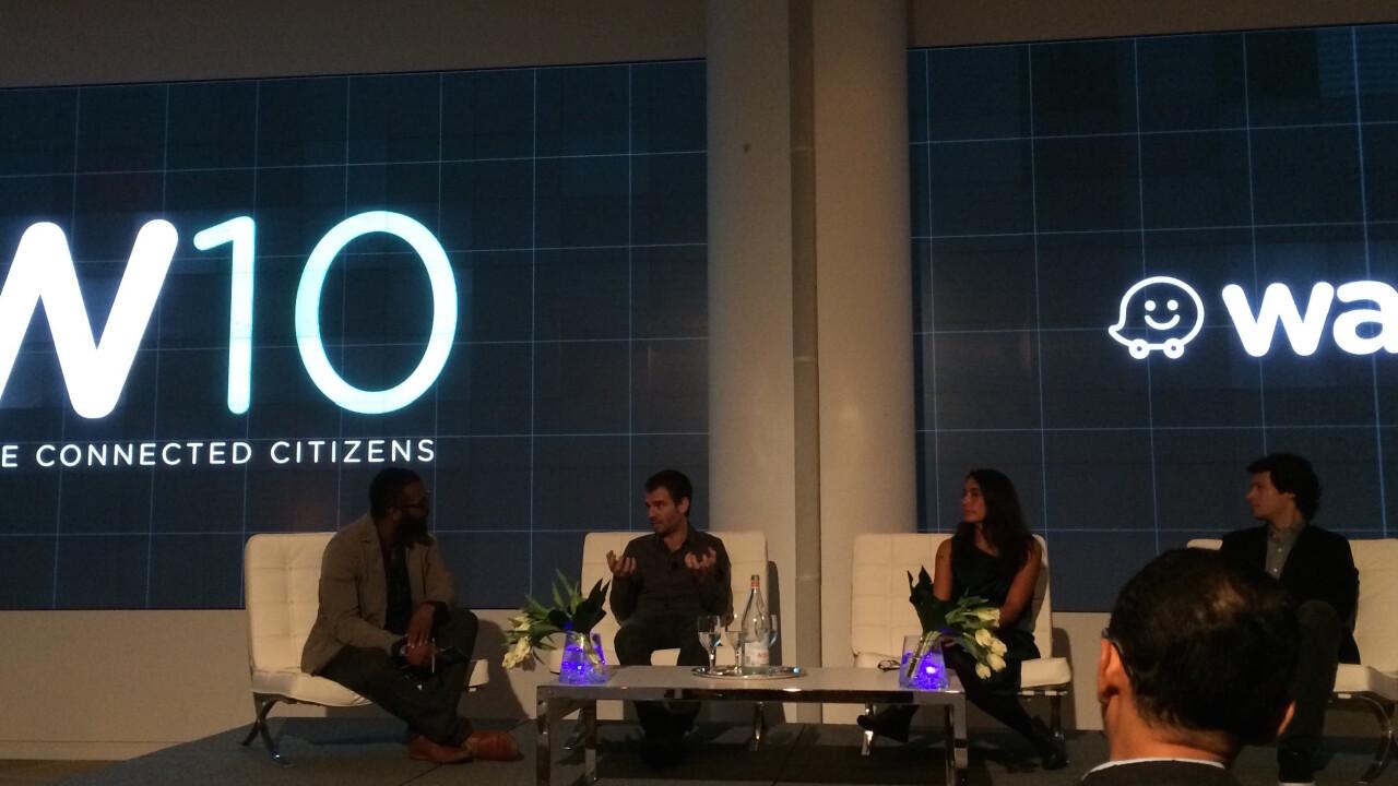 Google's Waze announces government data exchange program with 10 initial partners