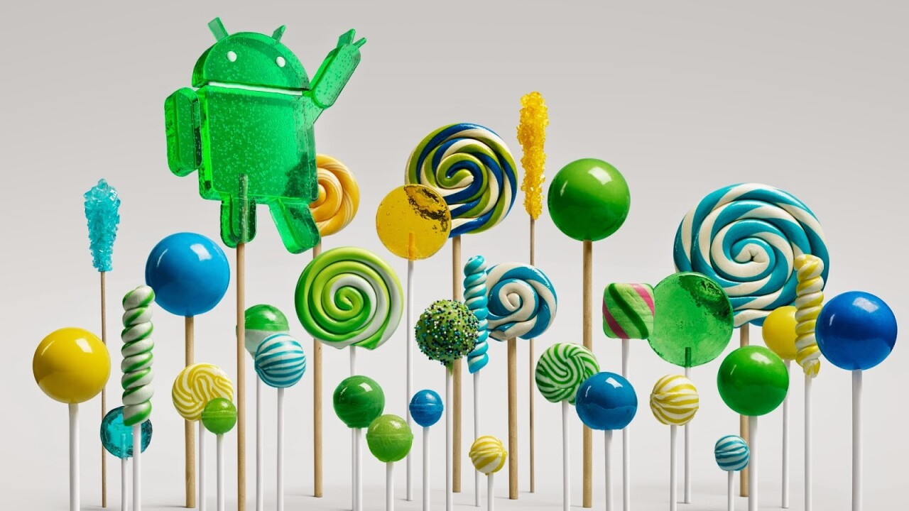 Google introduces Android 5.0 Lollipop