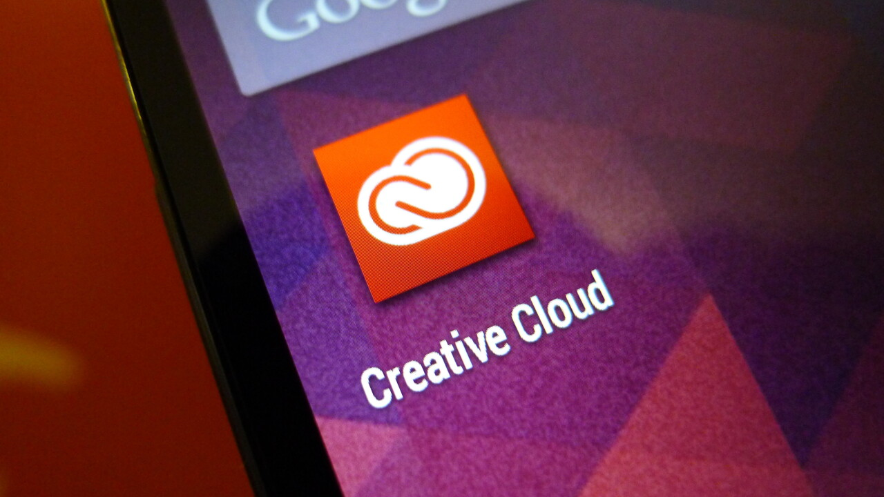 Adobe Creative Cloud for Android lets you manage and view design files on the go