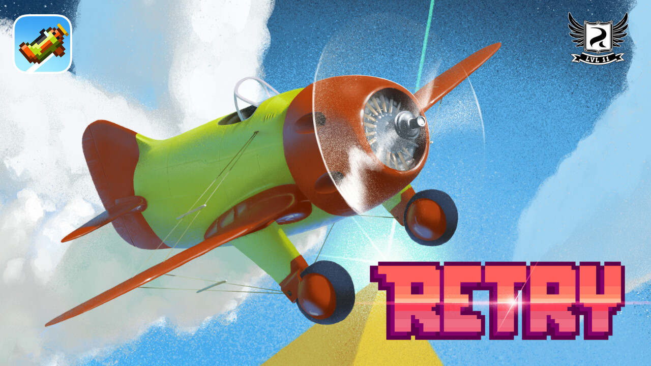 Rovio tries again with RETRY, its first game under experimental publishing arm LVL11