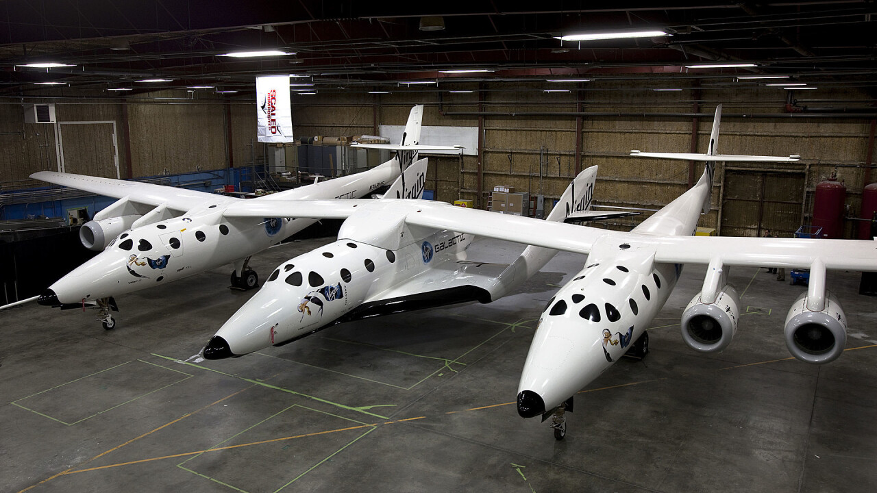 Virgin Galactic's Spaceship Two has crashed during a test flight [Updated]