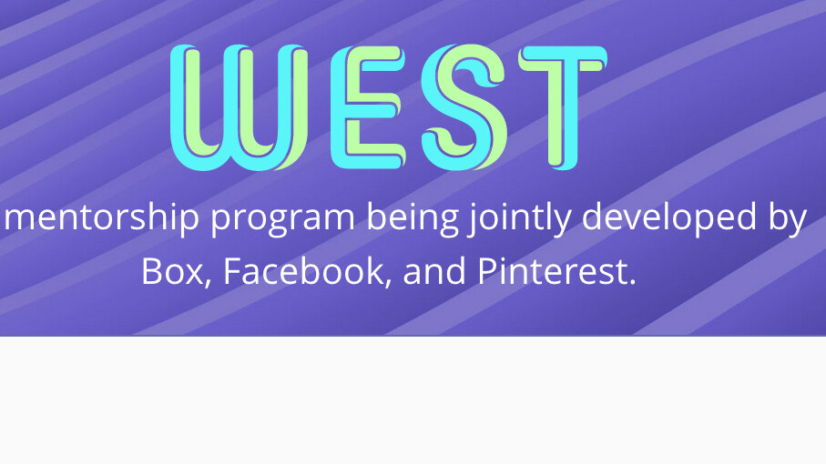 Facebook, Pinterest and Box create WEST, a mentorship program for women in tech