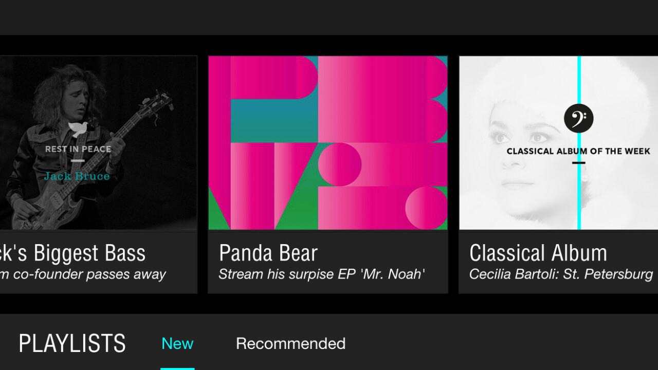 Tidal launches as a hi-fi music streaming service with editorial curation and videos