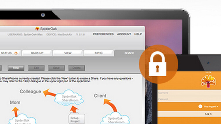 58% off 1 year of SpiderOak Pro: 200 GB of cloud storage for the security-obsessed