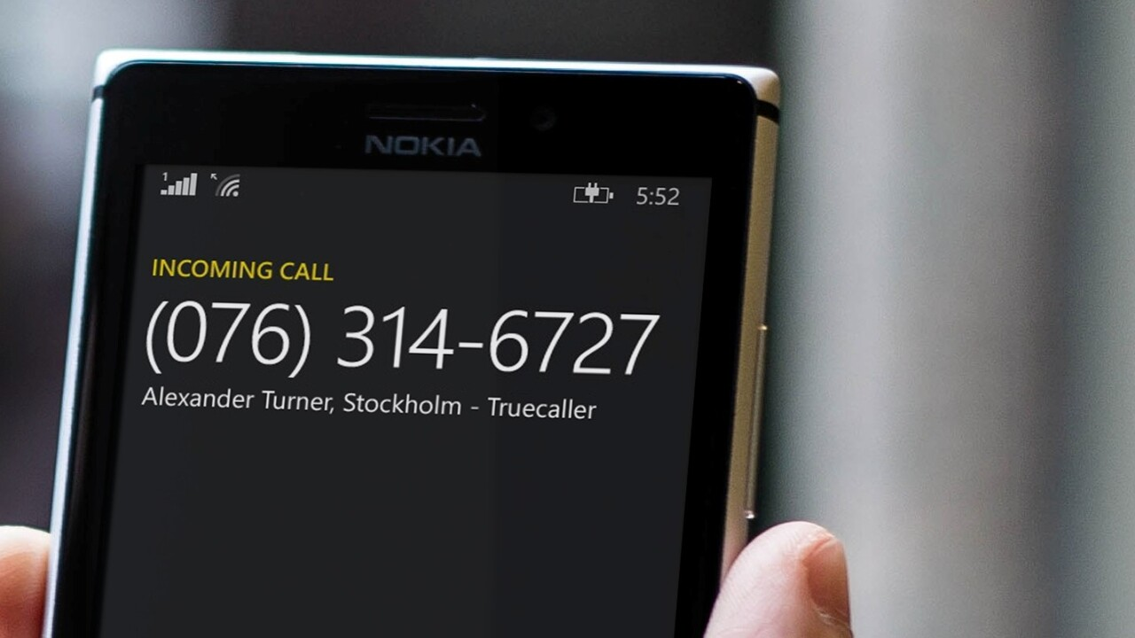 Microsoft opens up to Truecaller to help Windows Phone users pick out spam callers