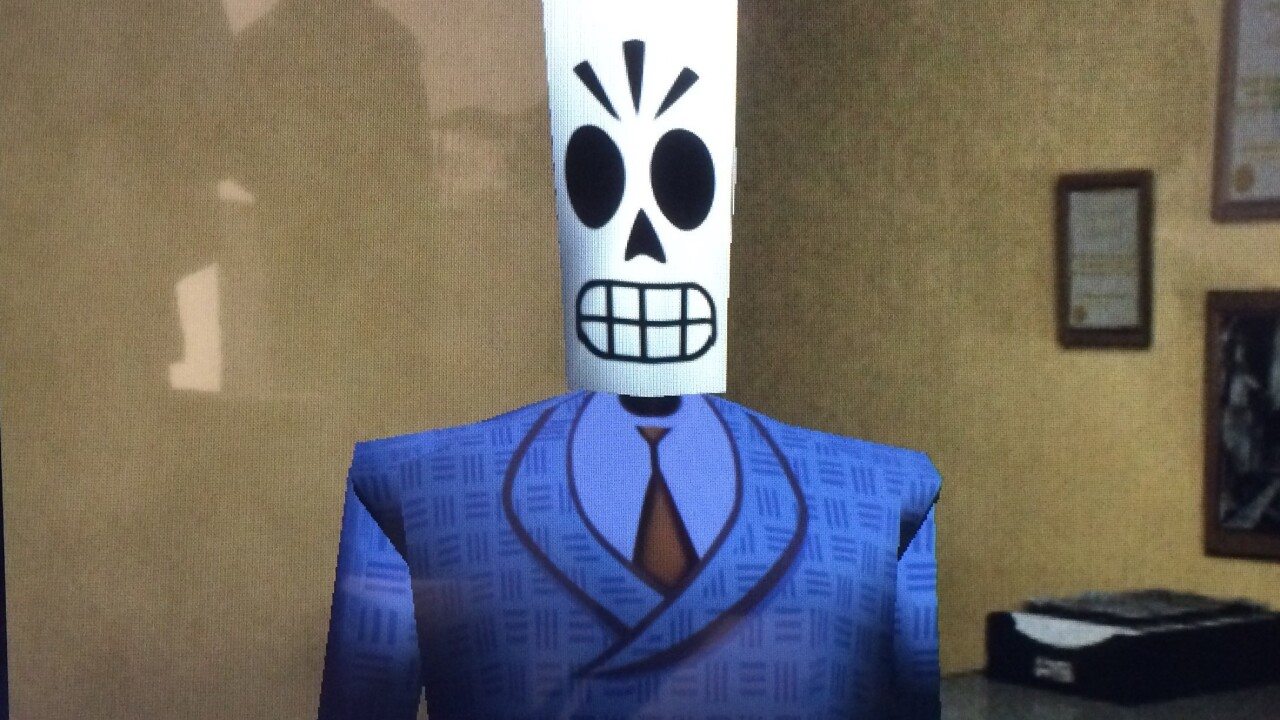 Hands-on with classic 90s game Grim Fandango, remastered for the PS4