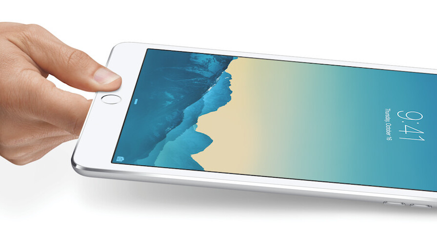 Apple announces iPad mini 3 with Touch ID fingerprint sensor