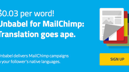 MailChimp taps Unbabel to offer translations of promo emails in more than 20 languages