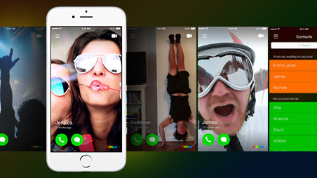 Rinbw puts a video spin on your phone's contacts