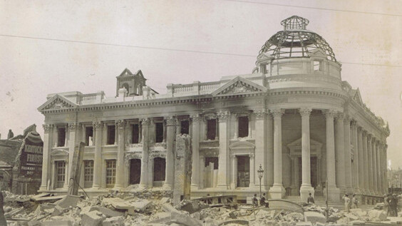 These strangely beautiful photos capture the devastation of the 1906 San Francisco earthquake