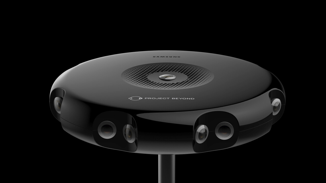 Samsung introduces 3D capturing Project Beyond camera for Gear VR
