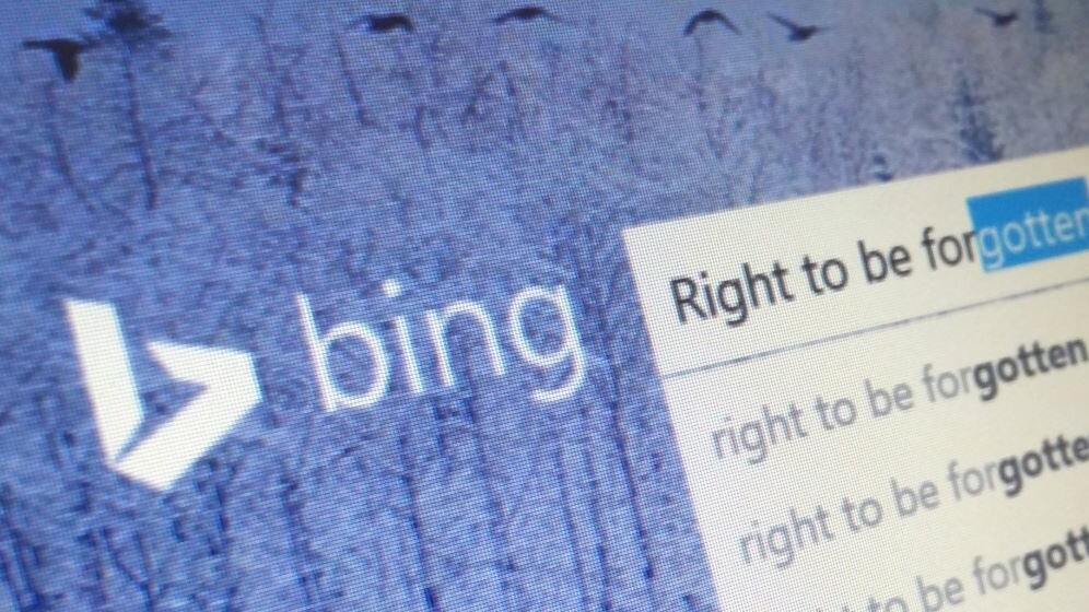Bing begins processing 'right to be forgotten' search result removal requests in Europe