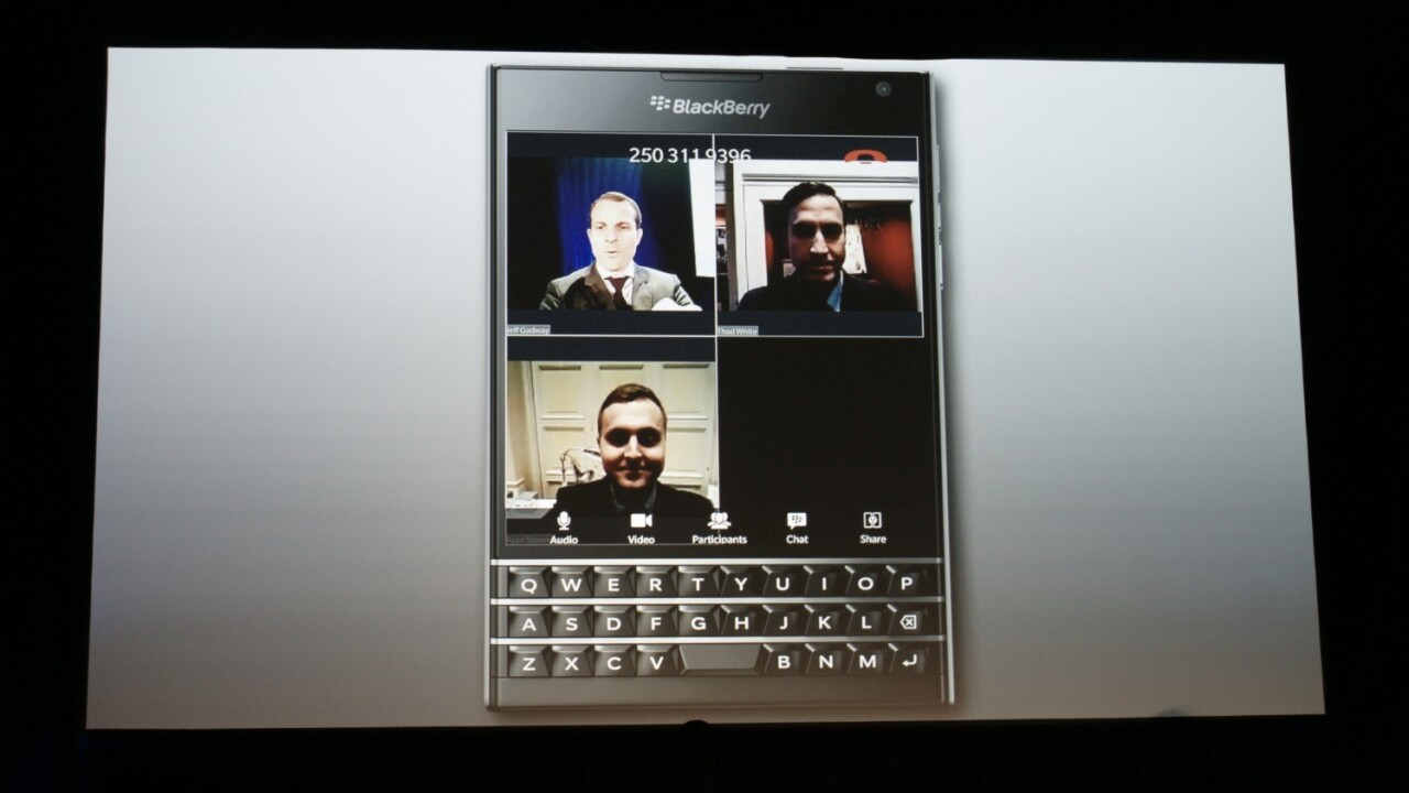 BlackBerry introduces BBM Meetings for cross-platform voice and video meetings