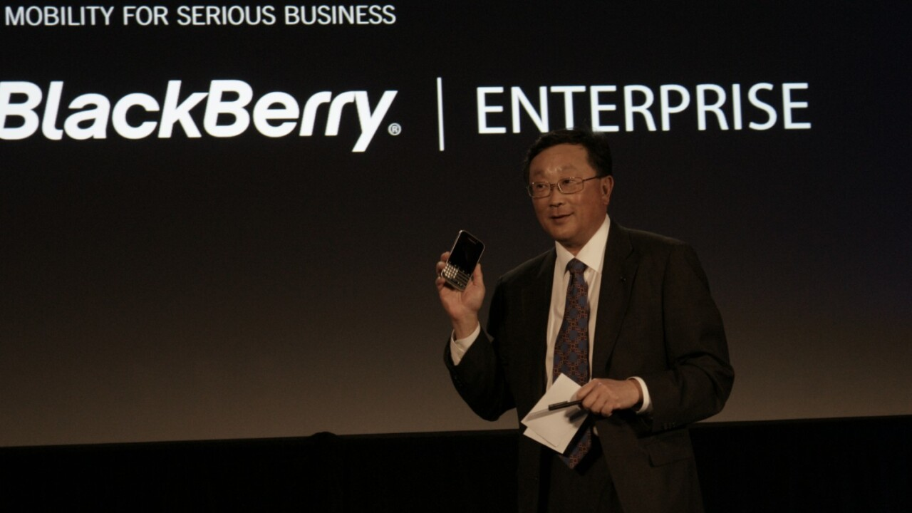 BlackBerry announces that BlackBerry Classic will launch on December 17 in New York