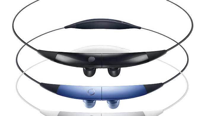 Samsung's Gear Circle, a bizarre neck-worn stereo headphone, launches in the US