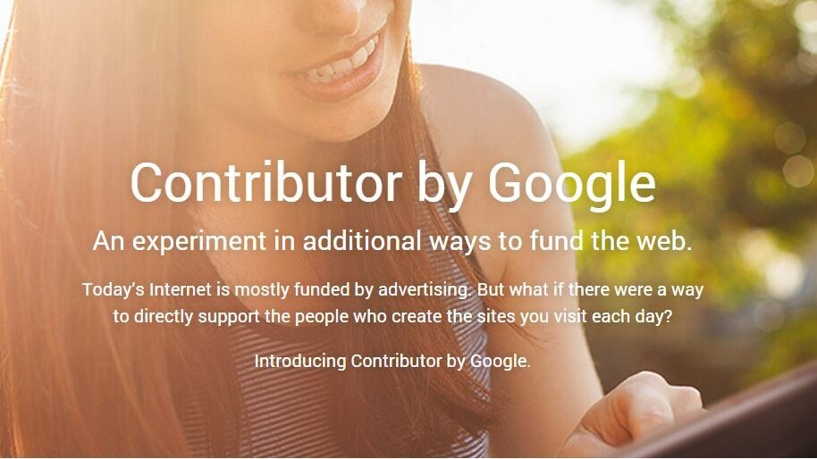 Google unveils Contributor, a subscription service to remove ads from your favorite sites