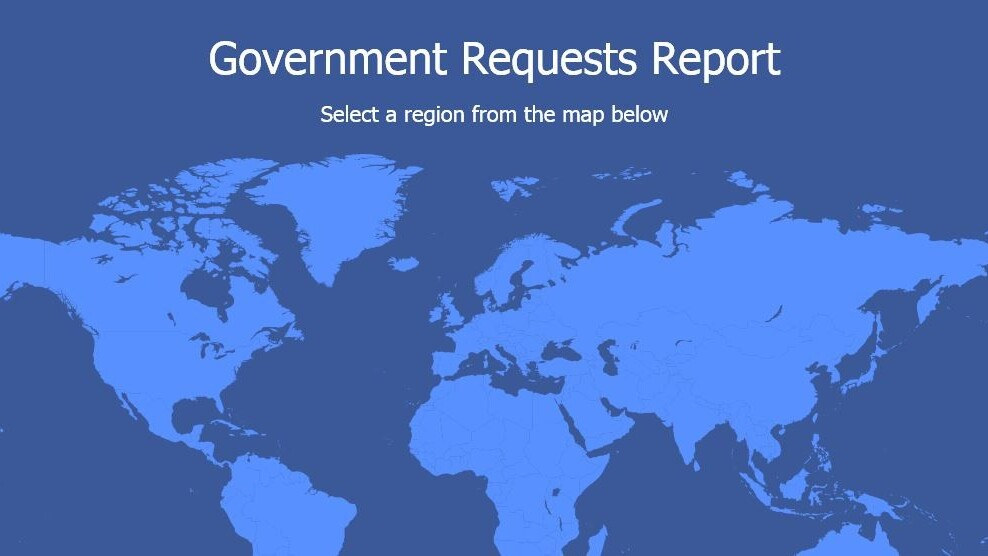 Facebook sees a 24% increase in government data requests since second half  of 2013