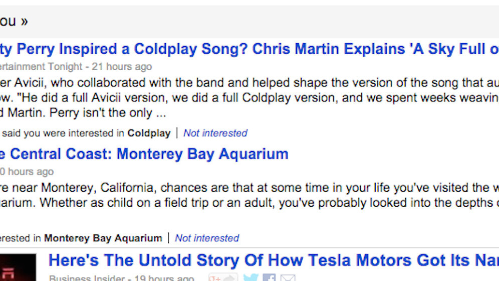 Google News is rolling out 'Suggested for you' customized bulletins