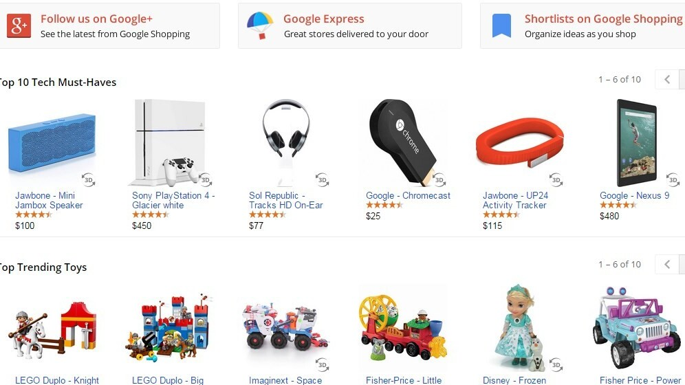 Google adds detailed info to shopping search results on mobile devices