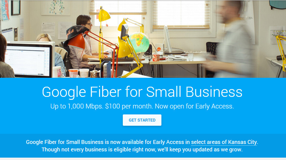 Google opens Fiber for Small Business Early Access Program in Kansas City